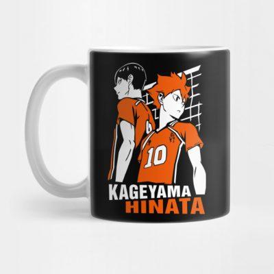Kageyama Tobio And Shoyo Hinayana Haikyuu Mug