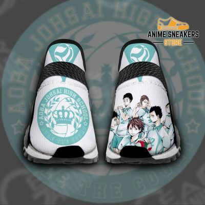 Aoba Johsai High Shoes Haikyuu Custom Anime Pt11 Men / Us6 Nmd