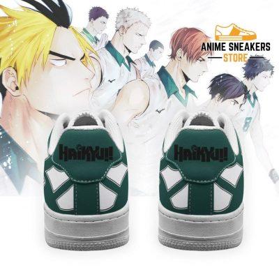Haikyuu Date Tech High Sneakers Uniform Anime Shoes Air Force