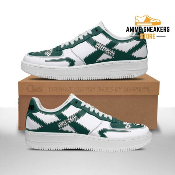 Haikyuu Date Tech High Sneakers Uniform Anime Shoes Men / Us6.5 Air Force