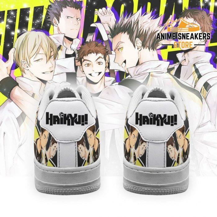 Haikyuu Fukurodani Academy Sneakers Team Anime Shoes Air Force