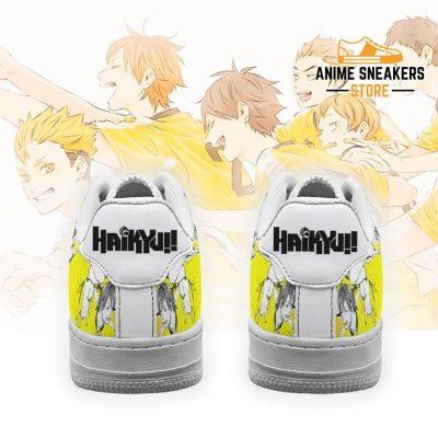 Haikyuu Johzenji High Sneakers Team Anime Shoes Air Force