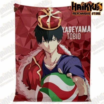 Haikyuu Kageyama Tobio Premium Microfleece Blanket - Aop