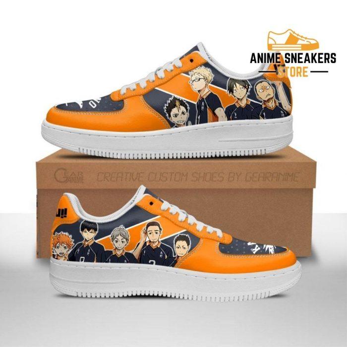 Haikyuu Karasuno Sneakers Team Anime Shoes Men / Us6.5 Air Force