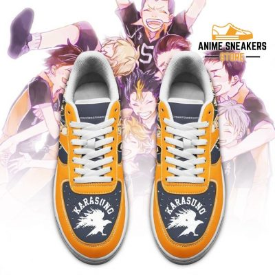 Haikyuu Karasuno Sneakers Team Anime Shoes Air Force