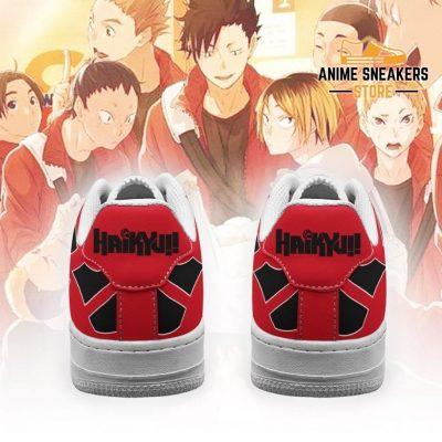 Haikyuu Nekoma High Sneakers Uniform Anime Shoes Air Force