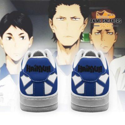 Haikyuu Ohgiminami High Sneakers Uniform Anime Shoes Air Force
