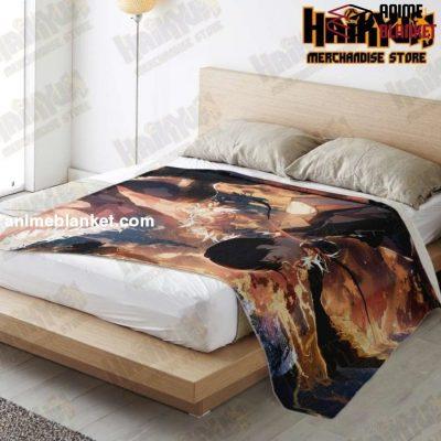 Haikyuu Premium Microfleece Blanket New Style No.6 - Aop