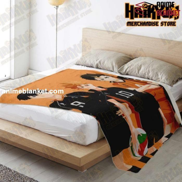 Haikyuu Premium Microfleece Blanket New Style No.3 - Aop