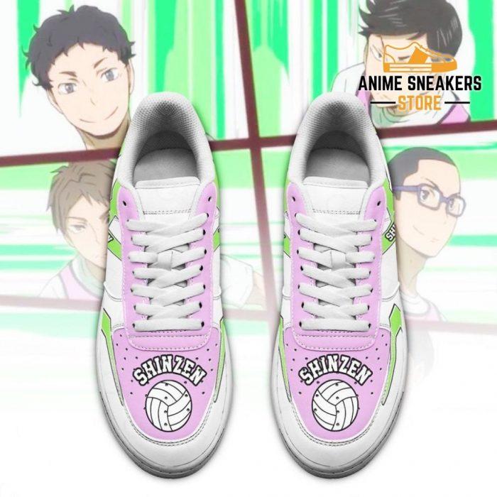 Haikyuu Shinzen High Sneakers Uniform Anime Shoes Air Force