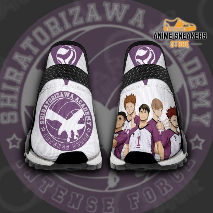 Shiratorizawa Academy Shoes Haikyuu Custom Anime Pt11 Men / Us6 Nmd