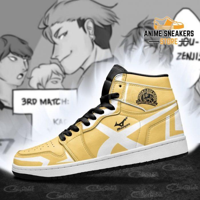 Johzenji High Shoes Haikyuu Custom Anime Mn10 Jd Sneakers