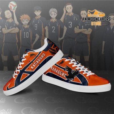 Karasuno High Skate Shoes Haikyuu Anime Custom Pn10