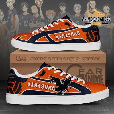 Karasuno High Skate Shoes Haikyuu Anime Custom Pn10 Men / Us6
