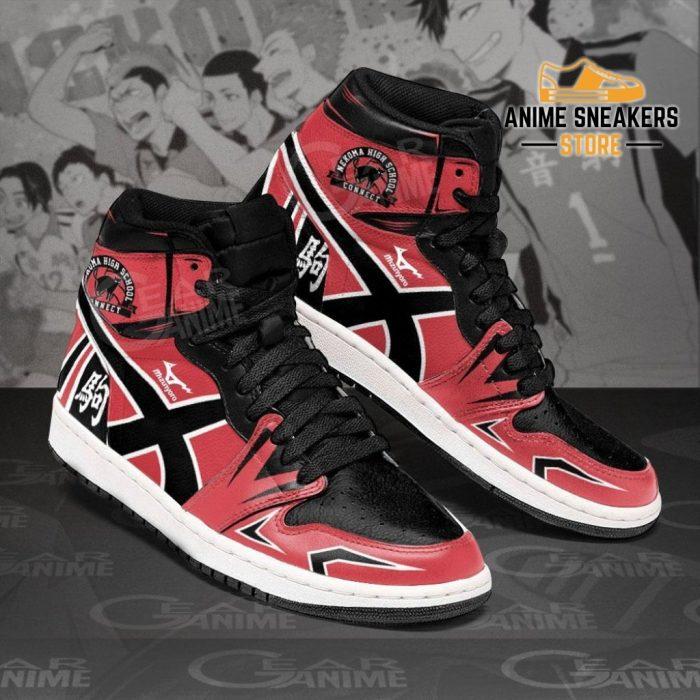 Nekoma High Sneakers Haikyuu Anime Shoes Mn10 Jd