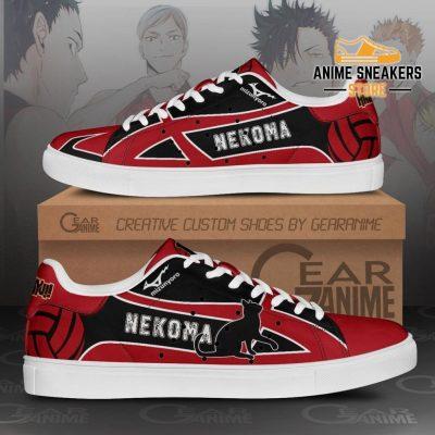 Nekoma High Skate Shoes Haikyuu Anime Custom Pn10 Men / Us6