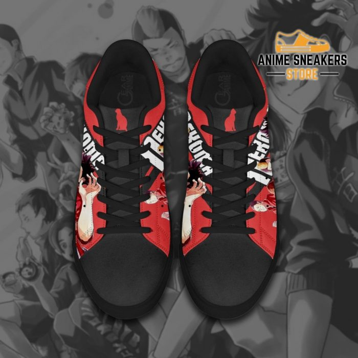 Haikyu Nekoma Skate Shoes Black Haikyu!! Custom Anime