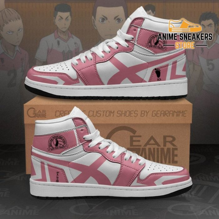Wakutani Minami High Sneakers Haikyuu Anime Shoes Mn10 Men / Us6.5 Jd