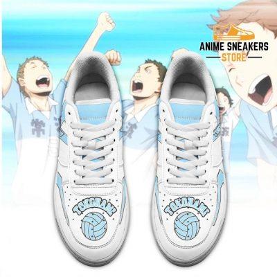Haikyuu Tokonami High Sneakers Uniform Anime Shoes Air Force