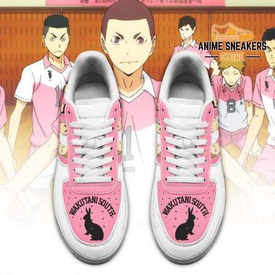 Haikyuu Wakutani South High Sneakers Team Anime Shoes Air Force