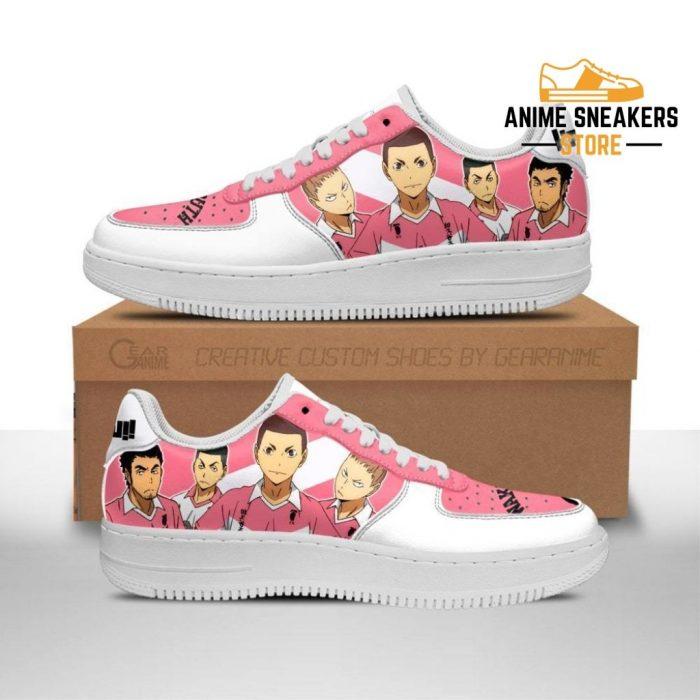 Haikyuu Wakutani South High Sneakers Team Anime Shoes Men / Us6.5 Air Force