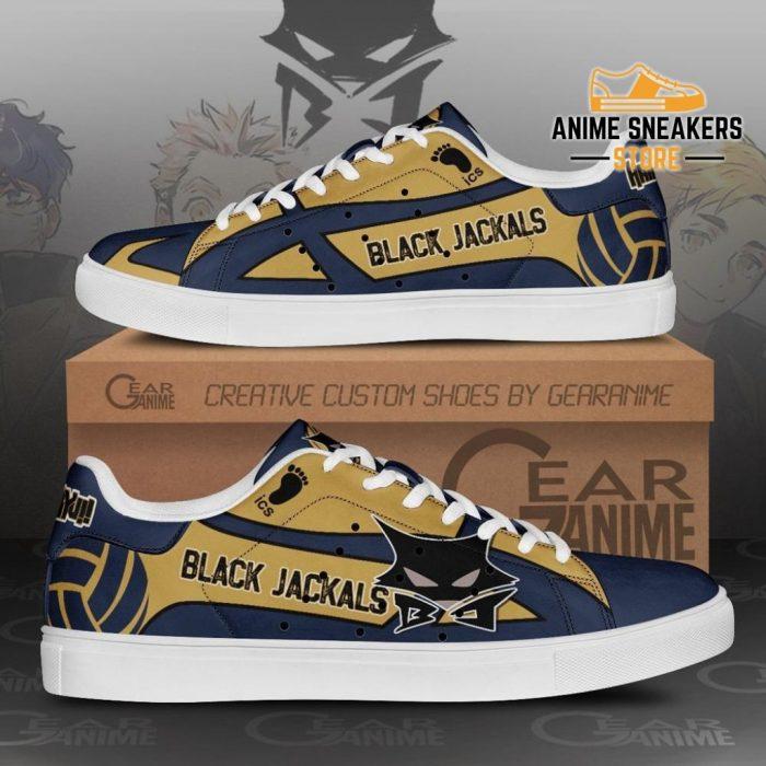 Msby Black Jackal Skate Shoes Haikyuu Anime Custom Pn10 Men / Us6