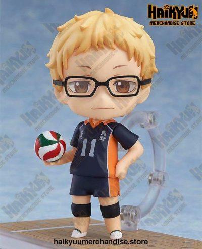 10Cm Haikyuu Kei Tsukishima Pvc Action Figure