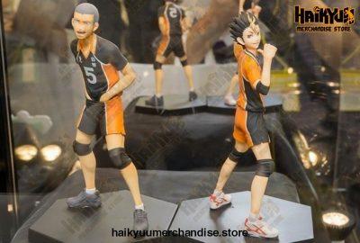 14Cm Haikyuu!! Tanaka Ryunosuke - Nishinoya Yuu Volleyball Pvc Action Figure 2Pcs