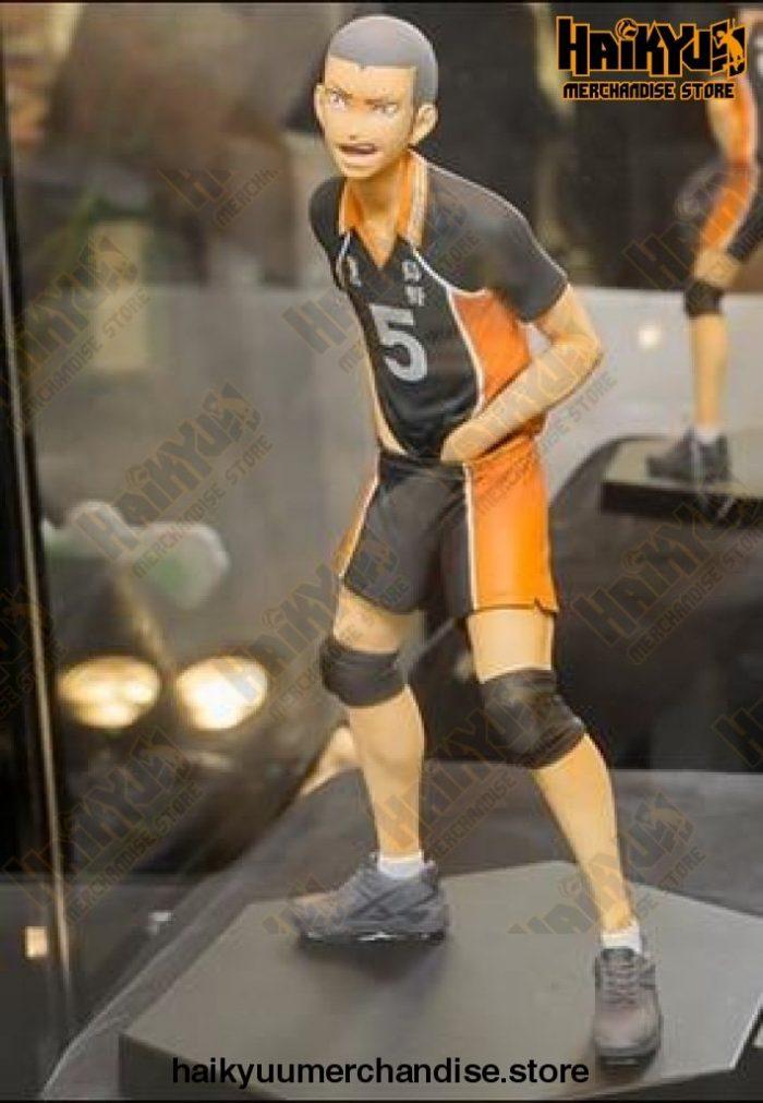 14Cm Haikyuu!! Tanaka Ryunosuke - Nishinoya Yuu Volleyball Pvc Action Figure Tanaka Ryunosuke