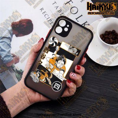 2021 Anime Haikyuu Iphone Case Style 1 / For 11