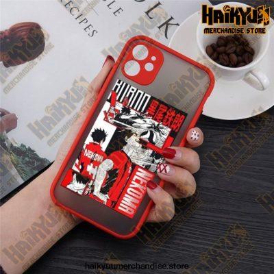2021 Anime Haikyuu Iphone Case Style 2 / For 11