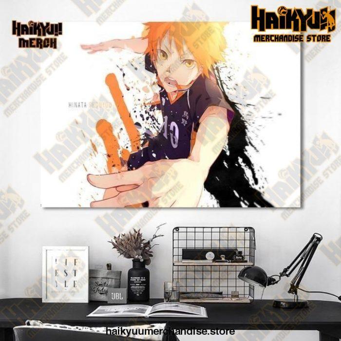 Haikyuu Wall Art  Hinata 13x18cm  No Frame Official Haikyuu Canvas Merch