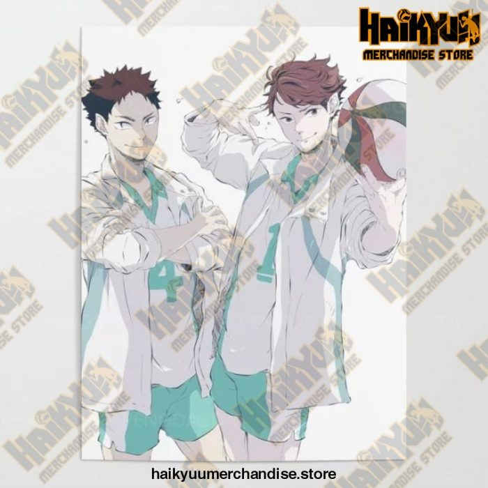 2021 Haikyuu Pictures Wall Artwork 50X70Cm No Frame / Nordic Jx3296-01