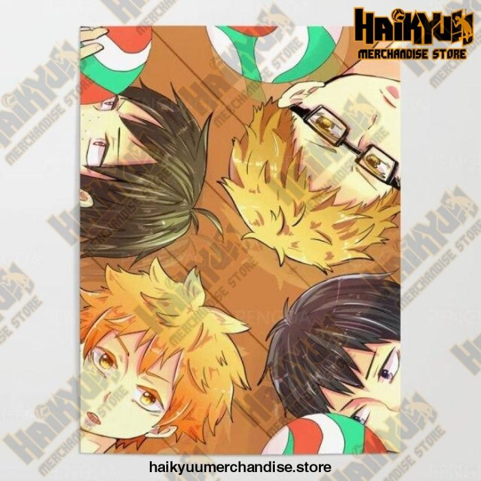2021 Haikyuu Pictures Wall Artwork 50X70Cm No Frame / Nordic Jx3296-04
