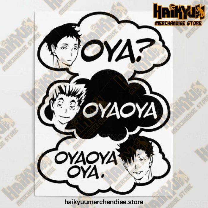 2021 Haikyuu Pictures Wall Artwork 50X70Cm No Frame / Nordic Jx3296-08