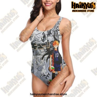 2021 Haikyuu Sexy Cross Back Swimwear Women Swimsuit Vintage Bathing Suits Design 2 / S