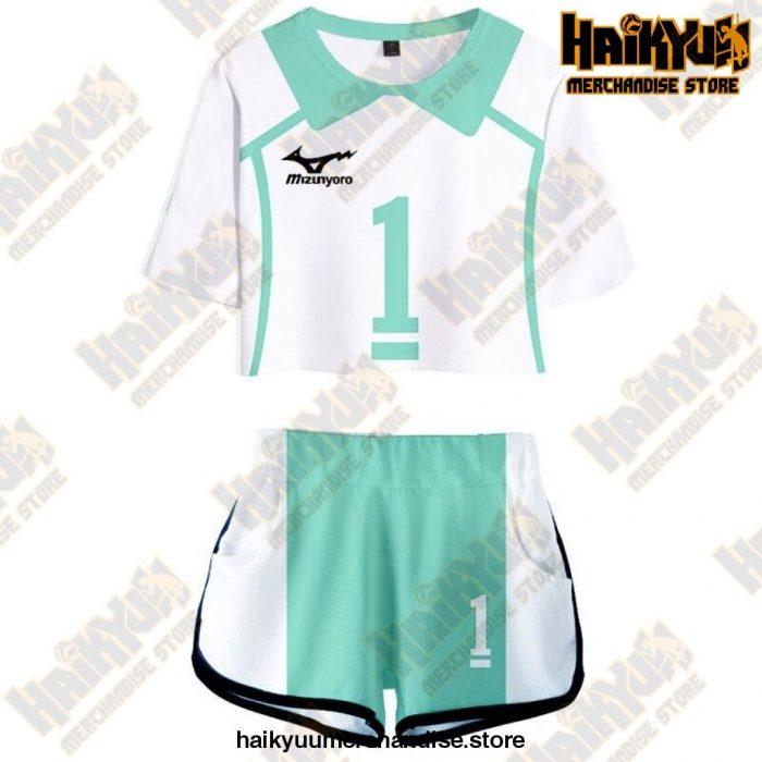Aoba Johsai High Cosplay Sportswear Jerseys Uniform 1 / S
