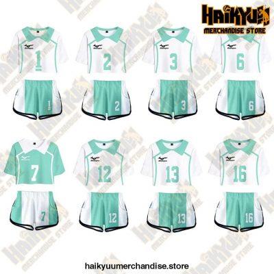Aoba Johsai High Cosplay Sportswear Jerseys Uniform