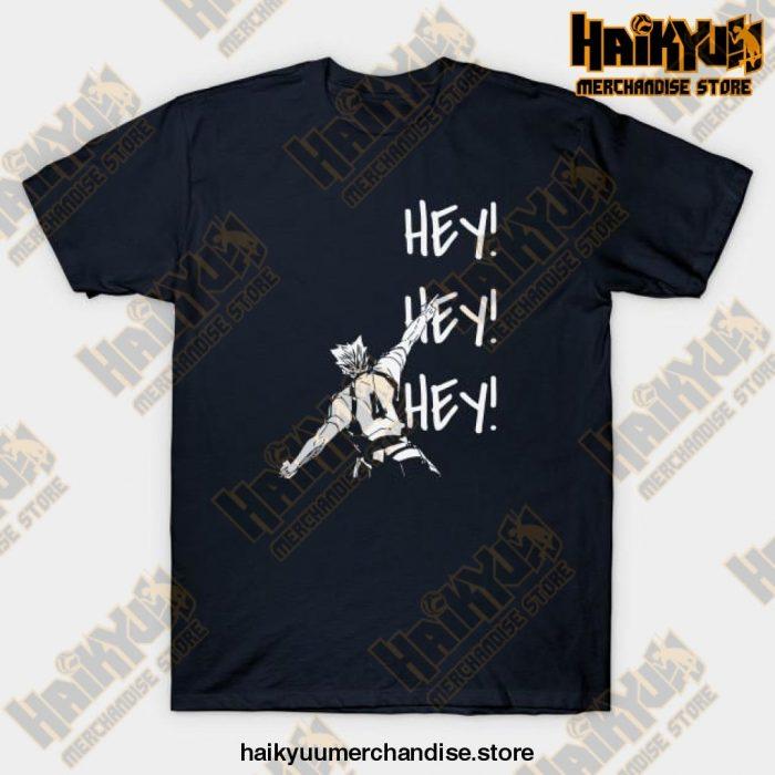 Bokuto Ace Haikyuu T-Shirt Navy Blue / S