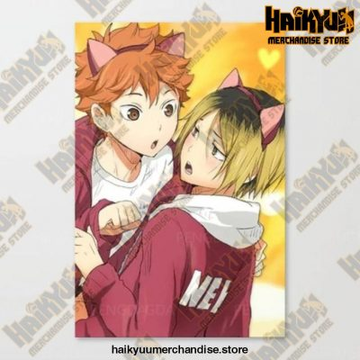 Canvas Haikyuu Picture Home Decoration 50X70Cm No Frame / Nordic Jx3278-05