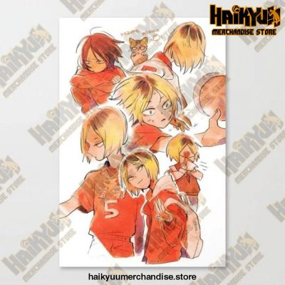 Canvas Haikyuu Picture Home Decoration 50X70Cm No Frame / Nordic Jx3278-06