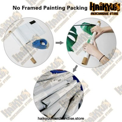 Canvas Haikyuu Picture Home Decoration