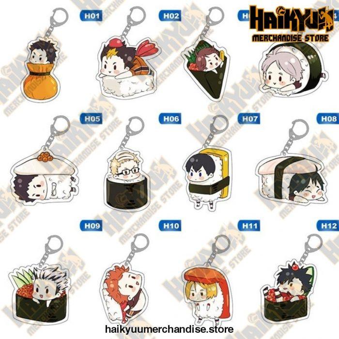 Cute Keychain Anime Haikyuu!!