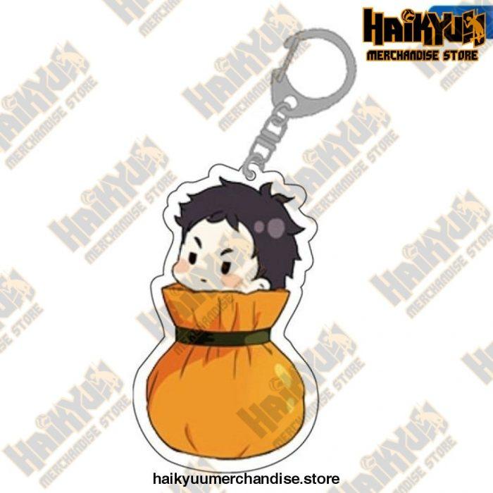 Cute Volleyball Boy Haikyuu Key Chain 01