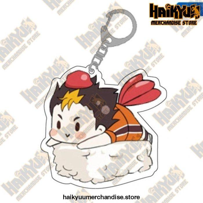 Cute Volleyball Boy Haikyuu Key Chain 02