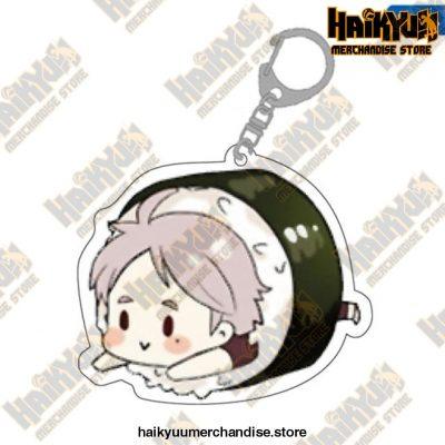 Cute Volleyball Boy Haikyuu Key Chain 04