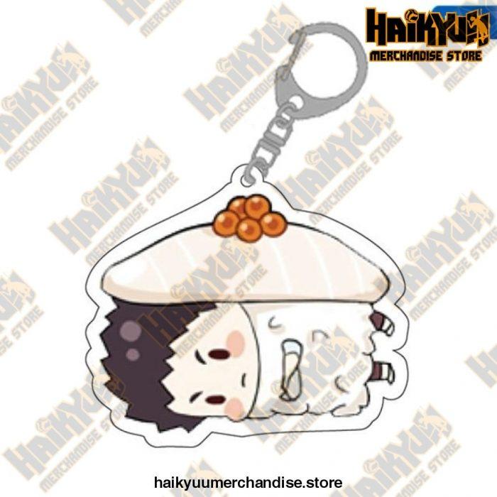 Cute Volleyball Boy Haikyuu Key Chain 05