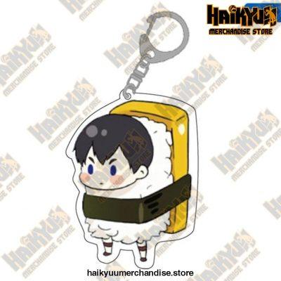 Cute Volleyball Boy Haikyuu Key Chain 07