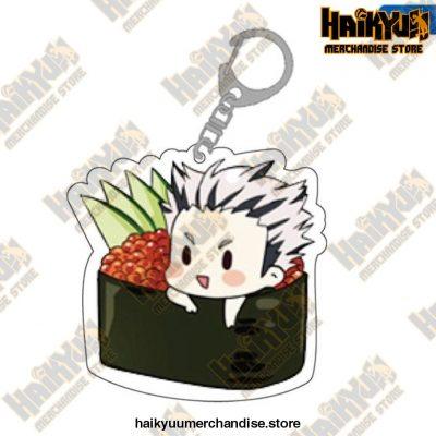 Cute Volleyball Boy Haikyuu Key Chain 09