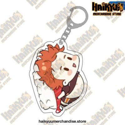 Cute Volleyball Boy Haikyuu Key Chain 10